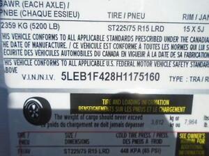 ALUMINUM CAR HAULER/ EQUIPMENT TRAILER 7X18' W/ALUMINUM WHEELS London Ontario image 5