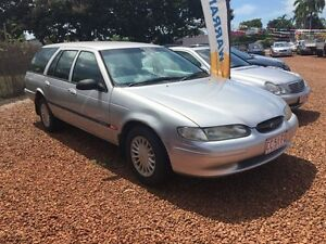 1997 Ford Falcon EF Silver 4 Speed Automatic Wagon Hidden Valley Darwin City Preview