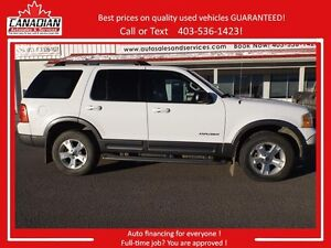 2005 Ford Explorer XLT LOW kms no accidents V8 4x4