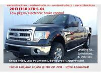 2013 Ford F150 XTR 5.0L~Leveling Kit~Tow Pkg ~ Only $26,900