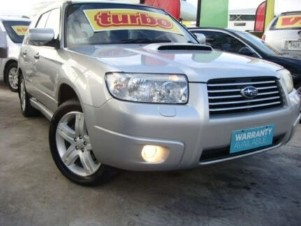 2005 Subaru Forester 79V MY06 XT AWD Luxury Silver 4 Speed Automatic Wagon Enfield Port Adelaide Area Preview