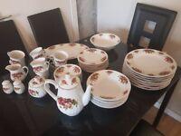 Royal norfolk fine china tea set