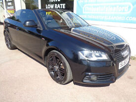 Audi A3 Cabriolet 2.0TDI S Tronic 2010 Black Edition F/S/H PX