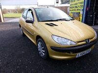 Peugeot 206 1.4 8v S 5dr (a/c) LOW MILEAGE Minster Autos ME12 3RT