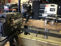 10 Outboard motors for sale. ALL are running and ready to go