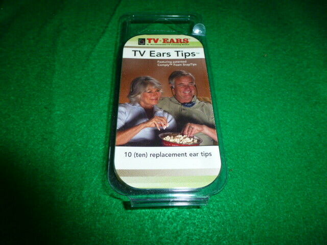TV Ears Replacement Ear Tips    5 sets NEW!!!