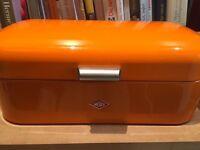 Wesco bread bin orange
