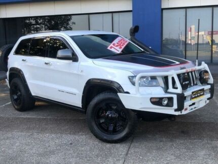 2013 Jeep Grand Cherokee WK MY13 Trailhawk (4x4) White 5 Speed Automatic Wagon Eagle Farm Brisbane North East Preview
