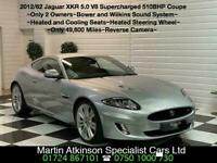 2012 62 Jaguar XKR 5.0 V8 Supercharged 510BHP Facelift Coupe~2 Owners~