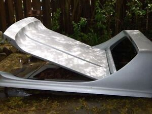GMC / Chevy Truck Sunvisor and Fiberglass bed cover