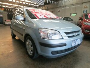 2004 Hyundai Getz TB GL 5 Speed Manual Hatchback Mordialloc Kingston Area Preview