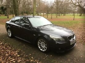 BMW 5 SERIES 2.5 525D M SPORT 4DR Automatic (black) 2005