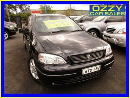 2005 Holden Astra TS Classic Black 4 Speed Automatic Sedan Minto Campbelltown Area Preview