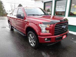 2015 Ford F-150 FX4 SuperCrew w/ Leather, NAV & MORE!