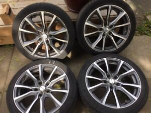17 Inch RTX Sport rims with Aeolus 215/45/17 in tires