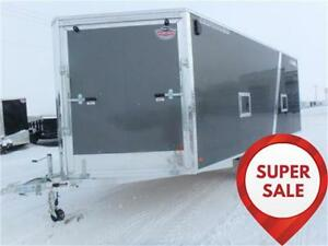 SUPER SALE! 8.5 X 20 -*ALL ALUMINUM*- DECKOVER SLED TRAILER