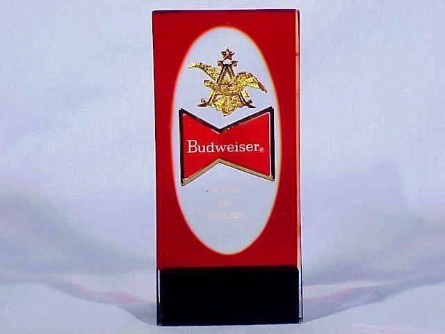 Vintage BUDWEISER Beer Tap Handle