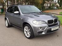 2009 59 BMW X5 3.0 XDRIVE30D M SPORT 5D AUTO 232 BHP 7 SEATS DIESEL