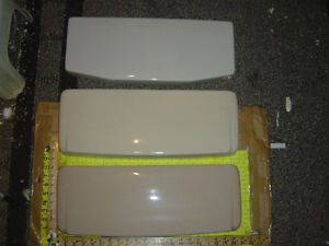 Fawn Beige American Standard Toilet Tank Lid Cover Top F