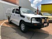2009 Toyota Hilux KUN26R MY10 SR Glacier White 4 Speed Automatic Dual Cab Stuart Park Darwin City Preview