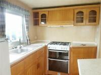 Bargain static caravan for sale on Sandy Bay, 15 minutes from Whitley Bay