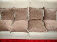 8 Brown Cushions – New