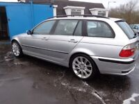 2003(53reg) BMW 330d TOURING AUTO 95,000 Mileswas £2195 now £1795