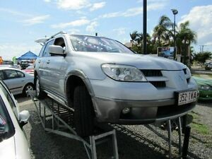 2005 Mitsubishi Outlander ZF LS Silver 4 Speed Sports Automatic Wagon Yeerongpilly Brisbane South West Preview
