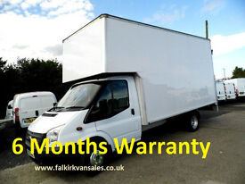 Ford Transit 2.2 TDCi 350 LWB Extended Frame (DRW) Chassis Cab RWD