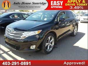 2011 Toyota Venza AWD FULLY LOADED BCAM 90DAYSNOPYMNT!