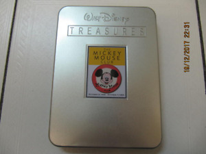 Classic The Mickey Mouse Club Limited Edition DVD Tin Circa 2004
