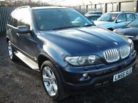 BMW X5 3.0 D SPORT 5d AUTO 215 BHP Face lift Sport model (blue) 2005
