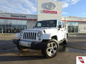 2018 Jeep Wrangler Unlimited SAHARA UNLIMITED/ CLEAN CAR FAX/ NA