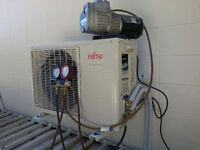 AIR CONDITIONING SERVICE REPAIR CENTRAL DUCTLES SPLIT WALL UNIT