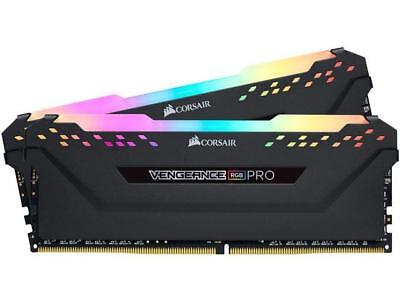 CORSAIR Vengeance RGB Pro 16GB (2 x 8GB) 288-Pin DDR4 DRAM DDR4 3000 (PC4 24000) - 288 Pc