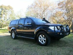 2013 Nissan Navara D40 S6 MY12 ST Blue 6 Speed Manual Utility Lucknow East Gippsland Preview