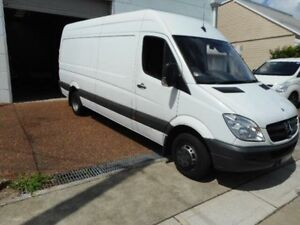 2013 Mercedes-Benz Sprinter 313 CDI LWB Hi Roof White Van Maryville Newcastle Area Preview