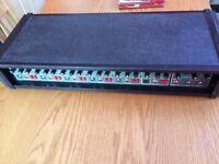 Carlsbro 6 Channel 150 watt pa amplifier