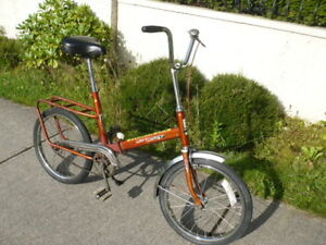 Vintage West German JET-STAR  Super Deluxe break apart bike