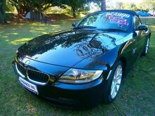 2006 BMW Z4 E85 MY06 Steptronic Black 6 Speed Sports Automatic Roadster Southport Gold Coast City Preview