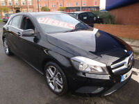 63 MERCEDES-BENZ A180 SPORT AUTOMATIC 7G 5 DOOR DIESEL 5 DOOR £30 ROAD TAX