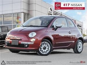 2013 Fiat 500 Lounge // SUNROOF // WINTER TIRES & RIMS //