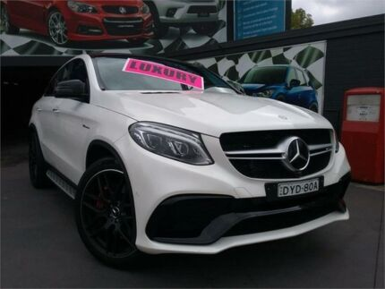 2016 Mercedes-AMG GLE63 S 292 4Matic White 7 Speed Automatic Coupe Greenacre Bankstown Area Preview
