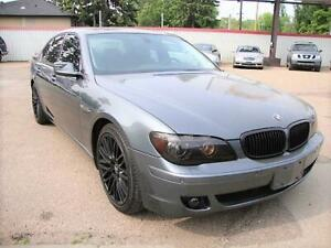 2008 BMW 7 Series 750i w/Nav/Air Cooled Seats/Sunroof~ Only 80K