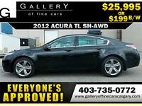 2012 Acura TL SH-AWD $199 bi-weekly APPLY NOW DRIVE NOW