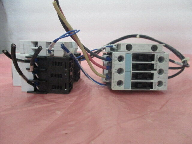 Siemens 3RH1921-1DA11 & 3RV1901-1J Auxiliary Contact Blocks, 451349