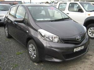 2013 Toyota Yaris NCP130R YR Grey Hatchback West Ballina Ballina Area Preview