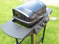 GAS BBQ TWIN BURNER -- USED ONCE & AS NEW