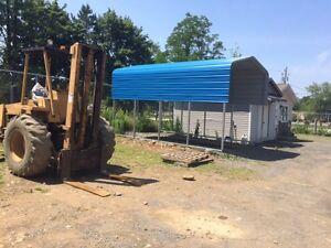 Carport storage unit 12' X 20'