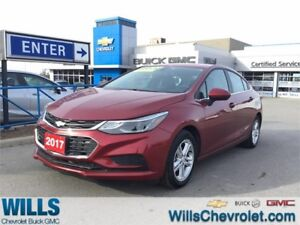2017 Chevrolet Cruze LT | SUNROOF | PUSH START | HEATED SEATS